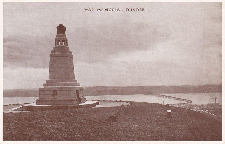 OLD 1920 England UK WAR MEMORIAL, DUNDEE POSTCARD BY E.T.W DENNIS & SOND LONDON | eBay