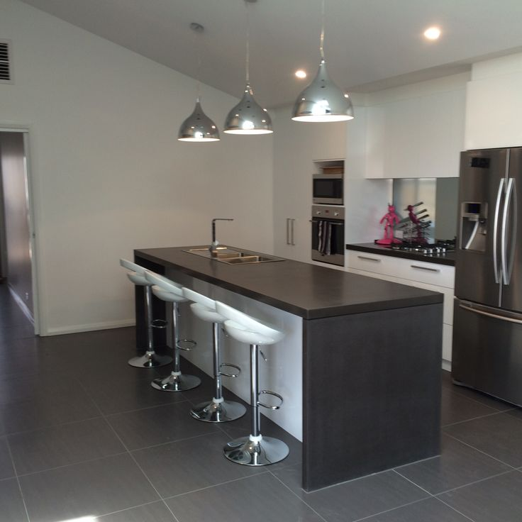 76 Best Polished Concrete Kitchen & Island Benchtops