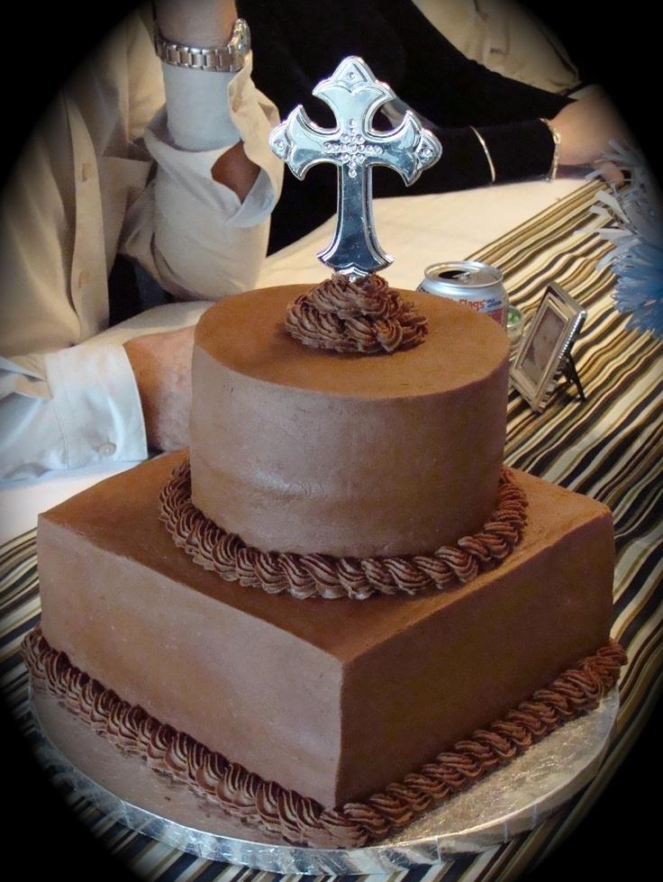 Chocolate Communion Cake Desserts By Dawn Pinterest ...