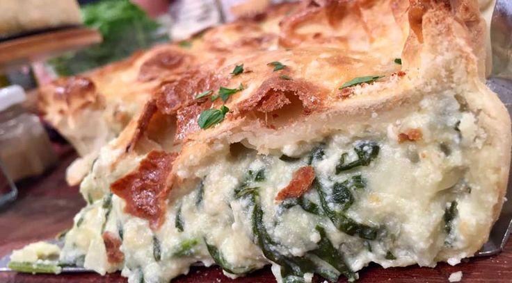 Pascualina con ricota y tarta de brócoli y panceta  - Cocineros Argentinos