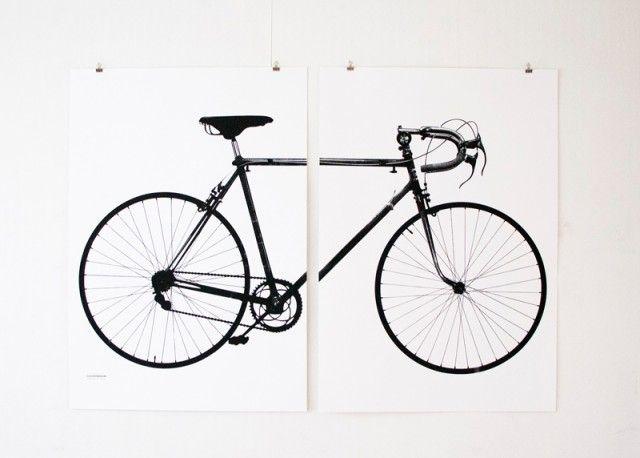 Världsmästarcykeln XL - Jollygoodfellow - Nordic Design Collective #nordicdesigncollective #jollygoodfellow #varldsmastarcykel #worldchampionbike #crescent #screenprint #screeprinted #munken #munkenlynx #handcraft #bicycle #bike #cykel #ridemybike #valkenburg #harrysnell #poster #print #xl #posterxl #black