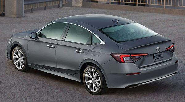 2022 Honda Civic Video Teaser Honda Civic Sedan Civic Sedan Honda Civic