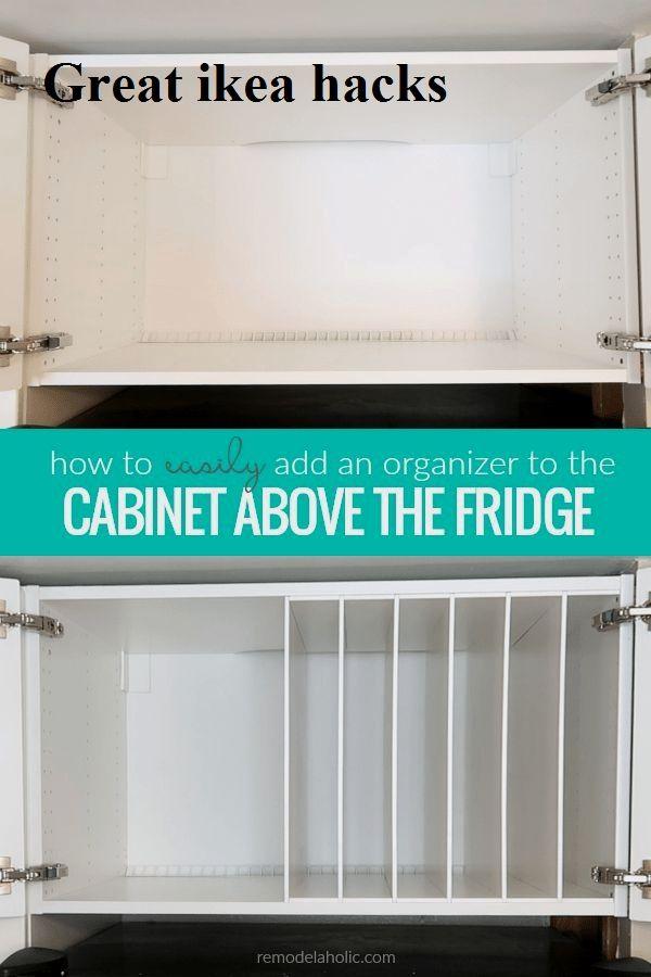 Ikea Kitchen Cabinet Organization, Ikea Refrigerator Cabinet