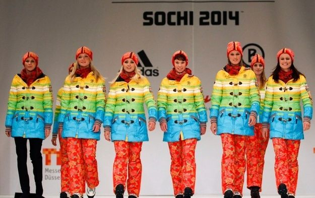 "The German Olympic Sports Confederation (DOSB) disputes any political message, telling Spiegel.de ""the uniforms are not a protest."" 