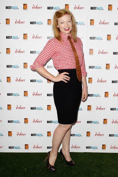 "Sarah Snook Photos - Sarah Snook arrives at the ""A Few Best Men"" Australian premiere at Event Cinemas Bondi Junction on January 16, 2012 in Sydney, Australia. - ""A Few Best Men"" Australian Premiere"