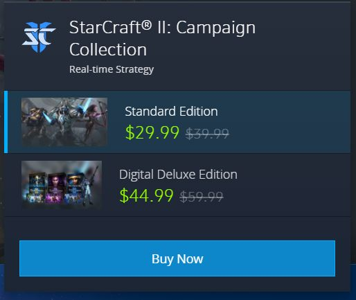 I thought starcraft 2 was free? Can someone help me understand what the difference between the free starcraft 2 and these paid versions? #games #Starcraft #Starcraft2 #SC2 #gamingnews #blizzard