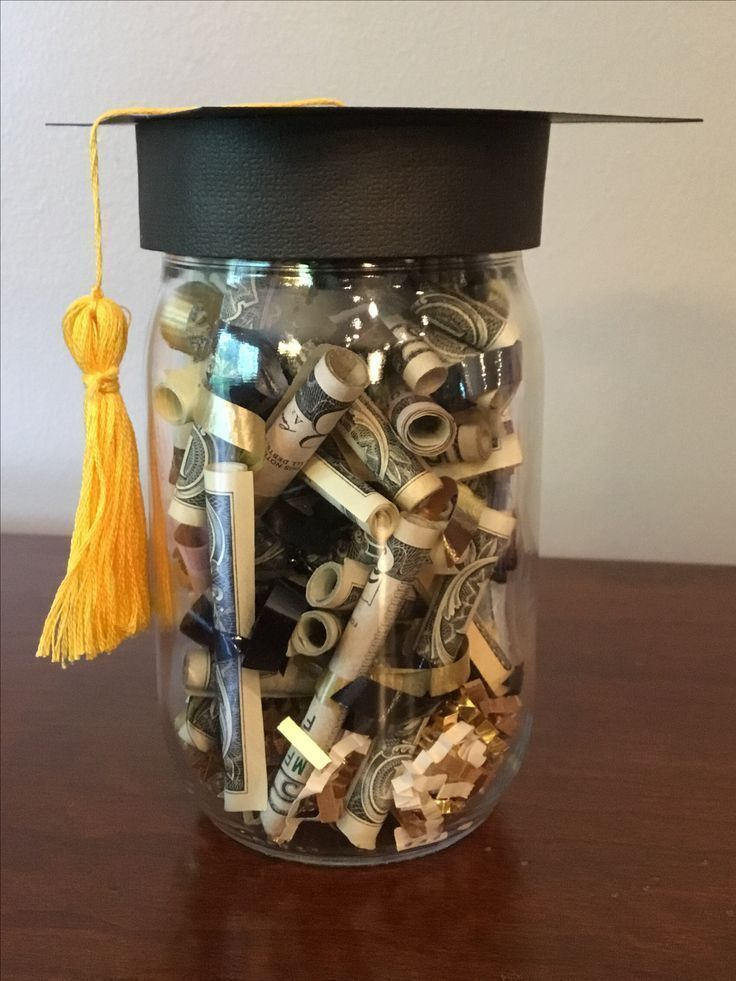 Diy graduation money gift graduation party for a family
