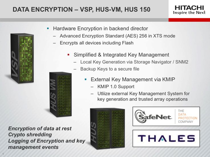 Trend 9 of the top 10 IT trends for 2014:  Encryption of data at rest becomes table stakes - from our partner Hitachi Data Systems!