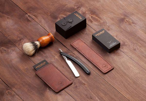 SHAVE & BLADE Gentelmen's Barber art director – Pavel Emelyanov designer – Pavel Emelyanov