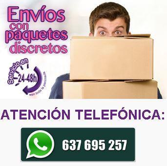 Envíos Discretos y Servicios WhatsApp Sexualis.es