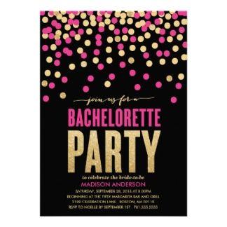 16 Besten Bachelorette Party Invitations Bilder Auf Pinterest