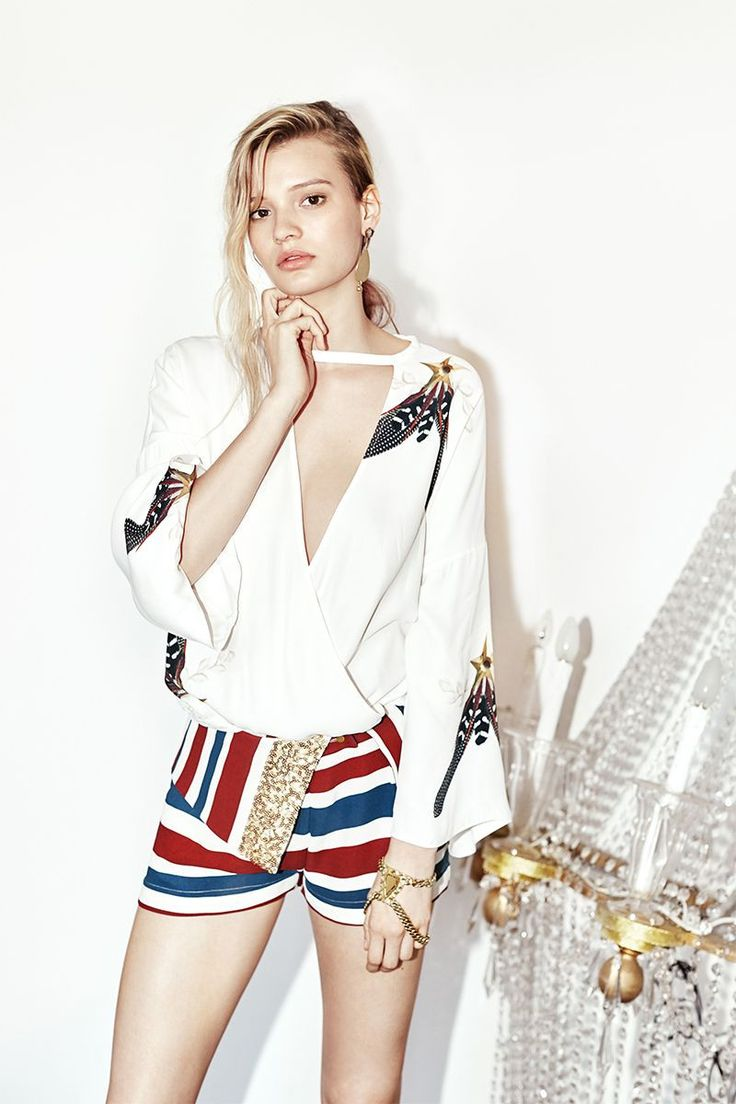 Sass and Bide - Never Quit Top