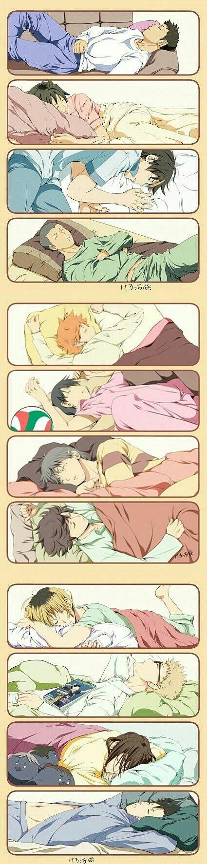 I wanna sleep with Asahi <<< I wanna sleep with all of them