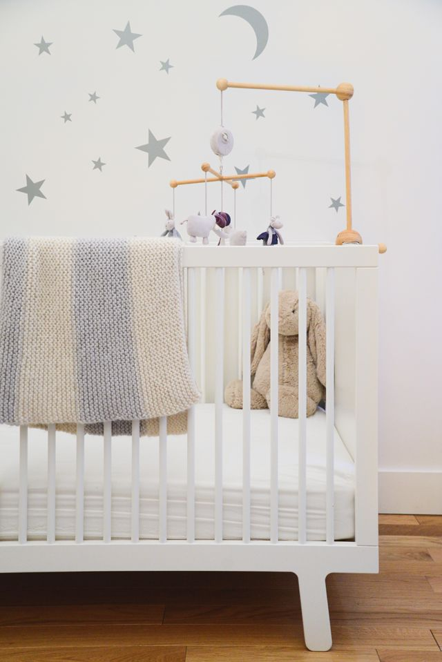 Project Nursery - White and Gray Nursery by Homepolish