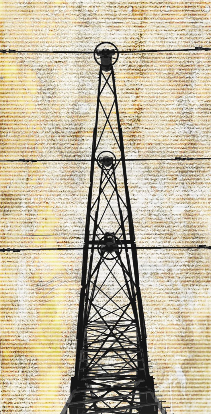 electric pole graphic