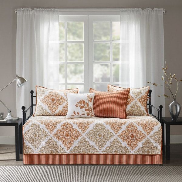 Madison Park Tissa 6 Piece Reversible Daybed Cover Set