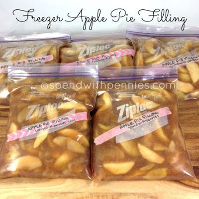 Freezer Apple Pie Filling Recipe - Key Ingredient