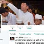 Presiden Jokowi Ulang Tahun Ke 56
