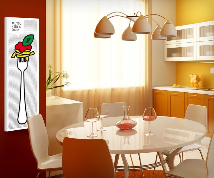 'Forchetta spaghetti e pomodoro' Computer art Unlimited/2009