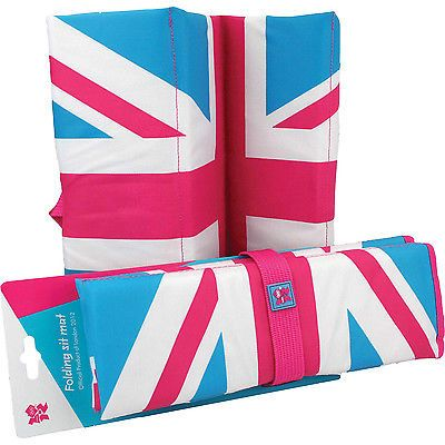 Union jack #sports sit mat #camping folding padded seat stadium #football rudgy,  View more on the LINK: 	http://www.zeppy.io/product/gb/2/130811383977/