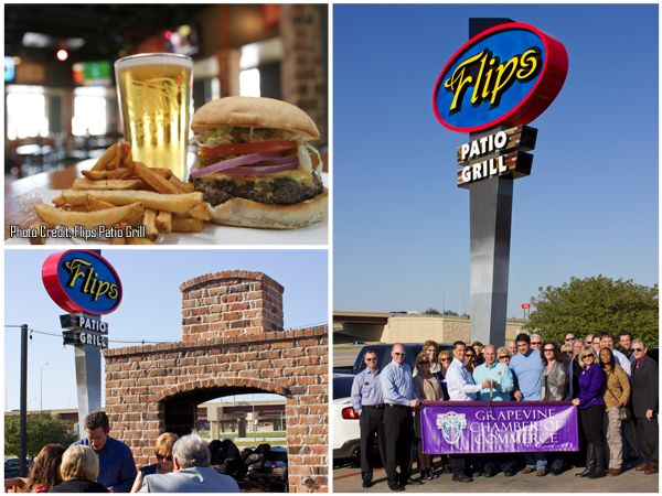 Congratulations To Flips Patio Grill On The Grand Re Opening Of Their  #restaurant!