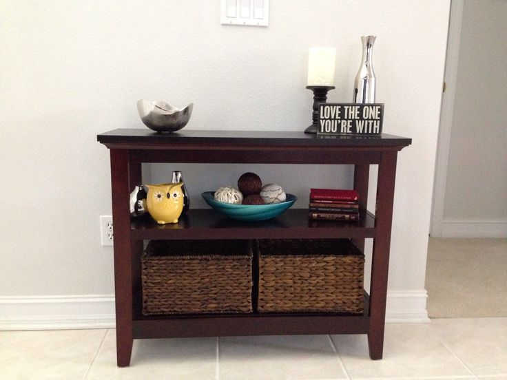 Foyer Table Bench : Images about entryway tables on pinterest cherries