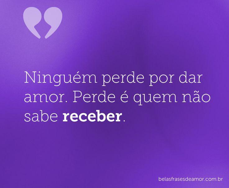Belas Mensagens: 26 Best Belas Frases De Amor Images On Pinterest