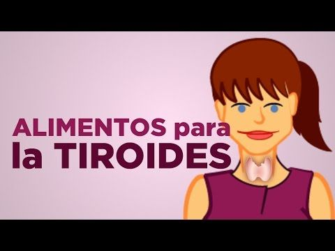 3 tipos de alimentos para estimular tu tiroides y adelgazar | APERDERPESO.COM - YouTube