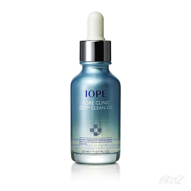 [IOPE] Pore Clinic Deep Clean Oil 30ml / A cleansing oil by Amore Pacific  #IOPE
