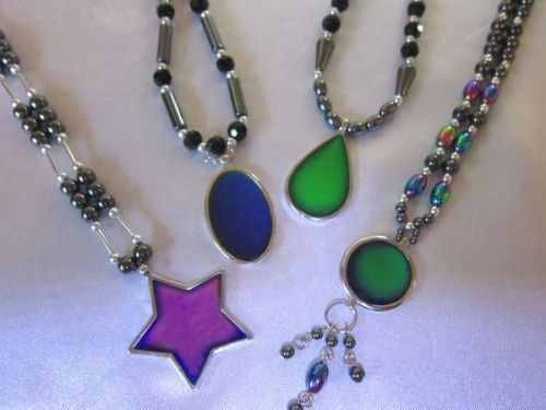 mood necklace color meanings chart special necklaces