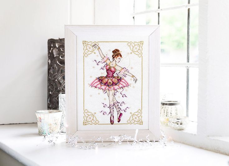 The beauty of ballet - Project available in The World Of Cross Stitching 234