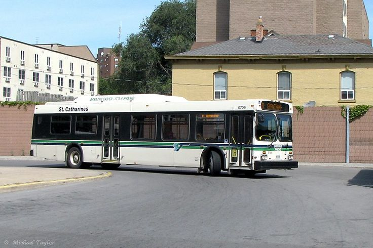 St. Catharines 0709 New Flyer  Bus