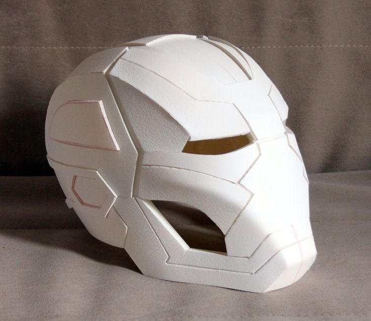 Iron Man Mark 41 Bones helmet Pepakura file by MaxCrft on Etsy