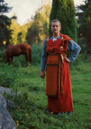 Finland traditional dress PC by jimmiehomeschoolmom, via Flickr