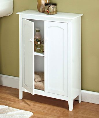 Beadboard Storage Cabinets | I have this in my kitchen, not very deep so perfect for small spaces. $29.95