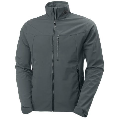 Helly Hansen Mens Paramount Softshell Jacket - Artic Grey: Our performance softshell jacket for all weather… #outdoorclothing #huntinggear