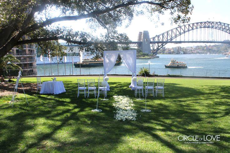 Tarpaien Lawn Wedding www.circleofloveweddings.com.au