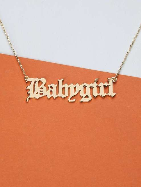 Baby Girl Chain Necklace