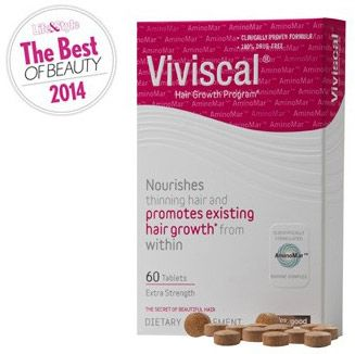 Hair growth vitamin for women | Viviscal Extra Strength | can be used in combination with Rogaine 5%