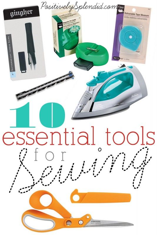 This list of 10 essential sewing tools is full of great information! Every home sewist should have these!Sewing Essential, Essential Tools, Essential Sewing, Sewing Projects, Splendid Crafts, Positive Splendid, Home Decor, Sewing Tools, 10 Essential