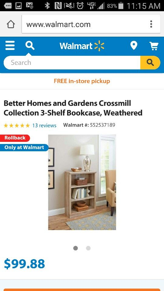 11 best Crossmill Collection at Walmart images on Pinterest | At ...