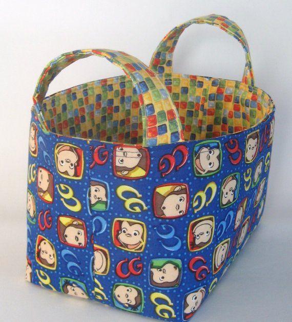 curious george storage basket