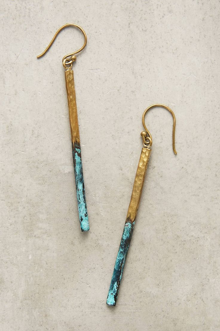 Shop the Linear Drop Earrings and more Anthropologie at Anthropologie today. Read customer reviews, discover product details and more. #Jewelrybranding #Jewelrytrends ,  Margarita Emilia G