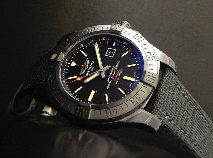 Breitling Avenger Blackbird 44 Watch Review & Best Price - Image 4