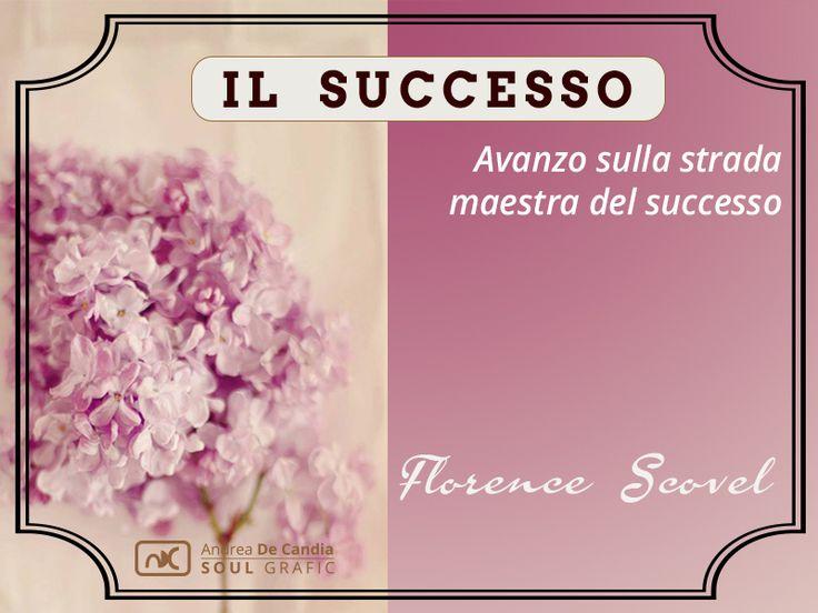 Avanzo sulla strada maestra del successo. Florence Scovel  Una amata donna che ha introdotto le affermazioni positive  #puoiguarirelatuavita #louisehay #mindvalley #loa #affermazionipositive #andreadecandia