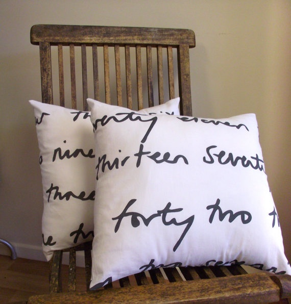 pillow covers in ikea fabric