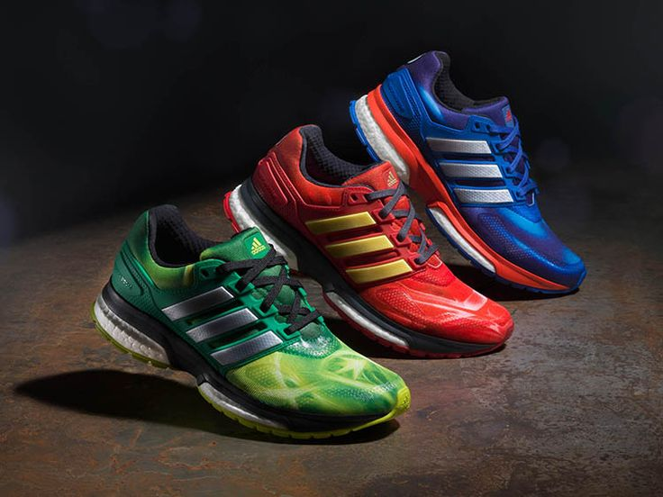 adidas and Marvel have joined forces once again to release a super cool Avengers: Age of Ultron-themed collection of Response Boost Techfit running shoes for kids. The shoes will become available t...
