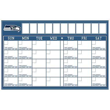 NFL Calendar, Seattle Seahawks