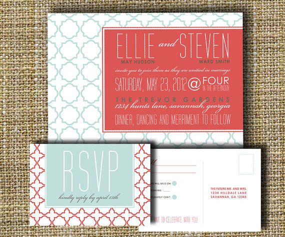 invite: Ideas Wedding, Romantic Wedding, Christmas Colors, Tile Patterns, Wedding Invitations, Wedding Photo, Colors Palettes, Geometric Design, Invitew Ideas