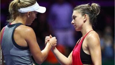 WTA Finals: Wozniacki thrashes Simona Halep to reach to semi-finals http://ift.tt/2z7BeYK